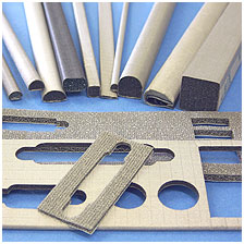 Electrically Conductive Fabric over Foam Gaskets