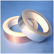 Conductive Copper, Aluminium and Fabric EMI Shielding Tapes