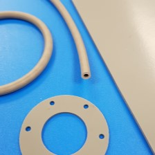Thermally conductive silicone materials